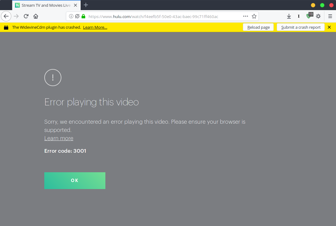 Watching Hulu and Prime Video in Firefox on Fedora   bazile org